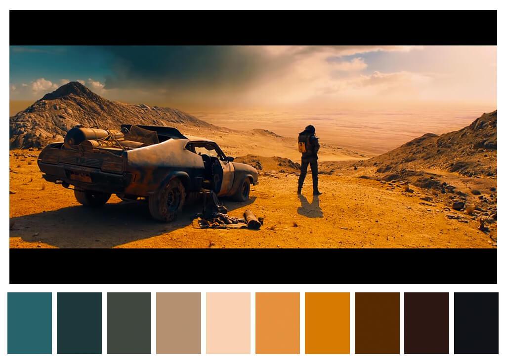 Cinema, paleta de cores e mídias sociais: coisas que a gente gosta