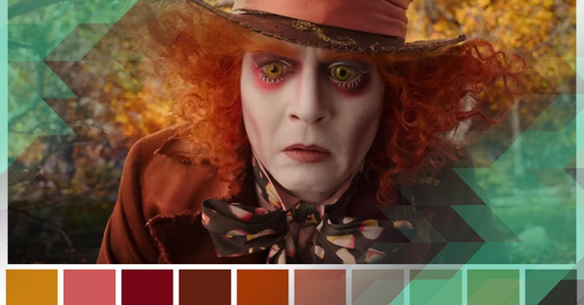 Cinema, paleta de cores e mídias sociais: coisas que a gente gosta!