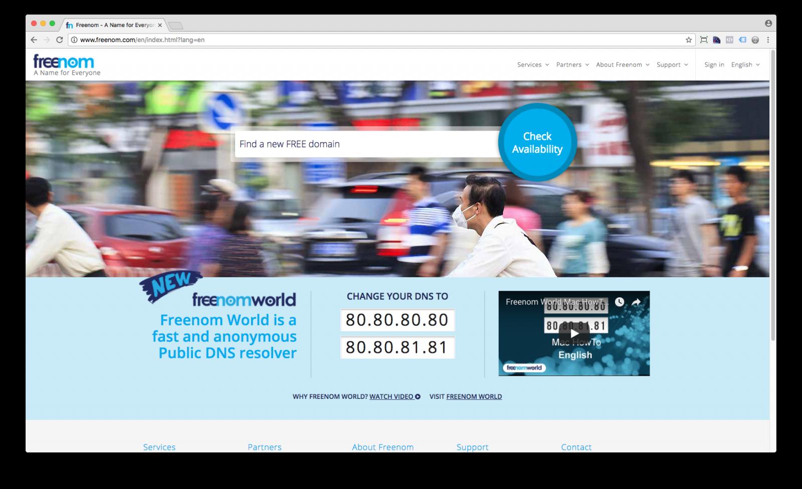 Como registrar um domínio grátis para apresentar sites e campanhas